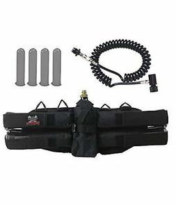 Brand New Maddog Sports 4+1 Paintball Harness w/ Pods & Stan