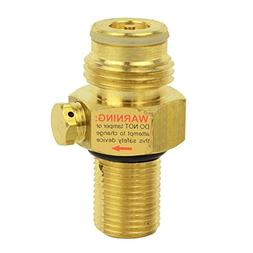 Brass Pin Valve for CO2 Paintball Tank - WRCO2-PV