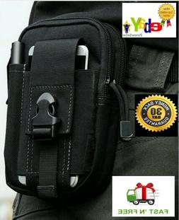 Concealed carry waist pack holster for compact 9mm & 380 sub