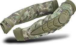Planet Eclipse HD Core Paintball Elbow Pads - HDE Camo - X-L