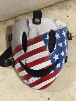 Costume Smile Airsoft Paintball BB Gun Tactical Fiberglass M