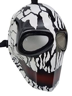 Invader King ® Crank Paintball Mask Airsoft Mask Protective