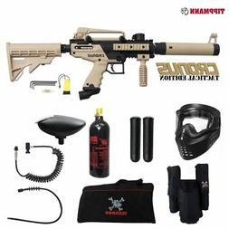 Tippmann Cronus Tactical Paintball Gun - Black / Tan