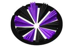 Virtue Crown 2.5 - Dye Rotor - Purple / Black