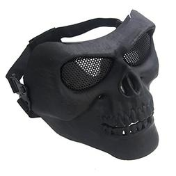 FORITONE CS Combat Tactical Airsoft Mask, Military Zombie Sk