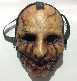 Custom Cosplay Airsoft Paintball BB Gun Full Face Mask Hallo