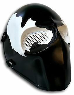 Custom Venom Airsoft Mask Paintball BB Gun Outdoor Protectiv