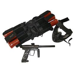 D3fy D3S Electronic Paintball Marker Gun PACKAGE BLACK/BLACK