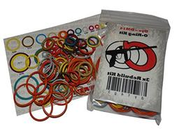 DLX Luxe 2.0  - Color Coded 3x Oring Rebuild Kit