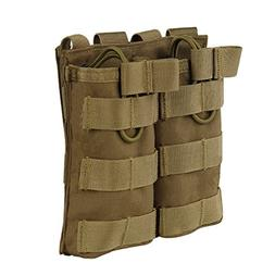 Wynex Double Magazine Open Top Molle Pouch Holder Bag Army A