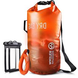 OutdoorMaster Dry Bag - Waterproof, Lightweight Dry Sack for