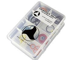 Dye DM14 - DM15 1x color coded paintball o-ring rebuild kit