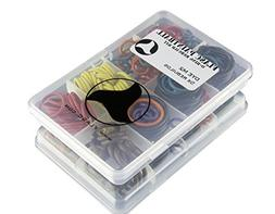 Dye M2 5x color coded paintball o-ring rebuild kit by Flasc