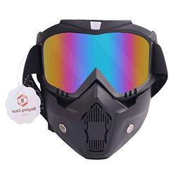 Paintball Mask, BeyongGear Adjustable Paintball Goggles Mask