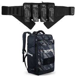 VIRTUE Elite Paintball Pod Pack/Harness and Gambler Gear Bag