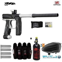 MAddog Empire Axe 2.0 Paintball Gun w/Tank + Dye LT-R Loader