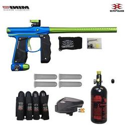 Empire Mini GS Advanced Paintball Gun Package - Dust Blue/Du