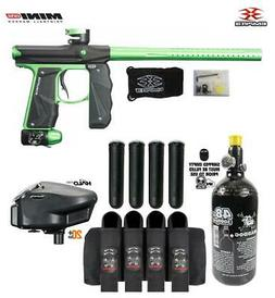 Empire Mini GS Advanced Paintball Gun Package - Black/Neon G