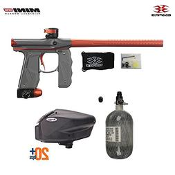 Empire Mini GS HPA Paintball Gun Package - Dust Grey / Orang