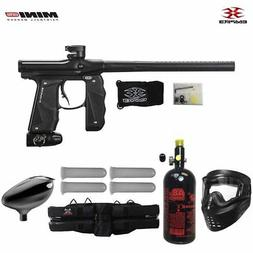 Empire Mini GS Starter HPA Paintball Gun Package - Dust Blac