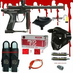 Spyder Fenix .68 CAL Paintball Gun Kit  READY PLAY BLOOD PAC