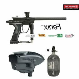 Spyder Fenix Maddog Advanced HPA Paintball Gun Marker Packag