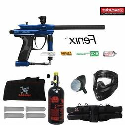Spyder Fenix Maddog Beginner HPA Paintball Gun Marker Packag
