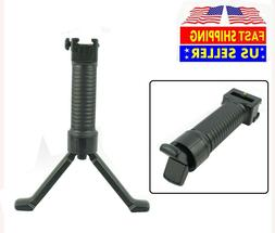 Foldable Hunting Bipod Vertical Foregrip For Picatinny Weave