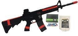 g&g cm-16 raider l black airsoft alpha viper package