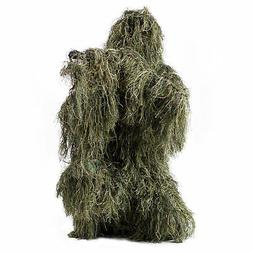 VIVO Ghillie Suit Camo XL/XXL Woodland Camouflage Forest Hun