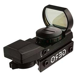 GERO Green & Red Dot  Laser Sight 22 mm Rail Mount Base Scop