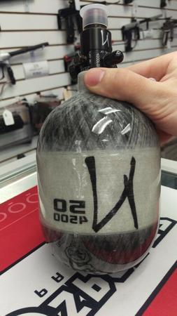 Ninja Paintball Grey Ghost Carbon Fiber Tank - 50 / 4500 - H