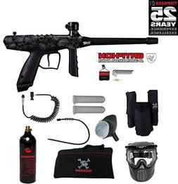 Tippmann Gryphon FX Private Paintball Gun Package - Skull