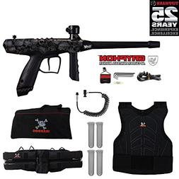 Tippmann Gryphon FX Sergeant Paintball Gun Package - Skull