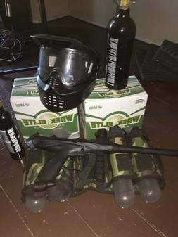 Tippmann Gryphon Paintball Marker Gun 3Skull 4+1 9oz Mega Se