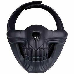 Half Face Masks Mask, Lower Protective For Airsoft/Paintball