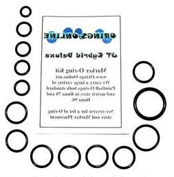 JT Cybrid Paintball Marker O-ring Oring Kit x 4 rebuilds / k