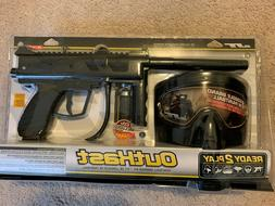 JT Outkast Paintball Gun RTP Ready to Play Package Kit - Mar