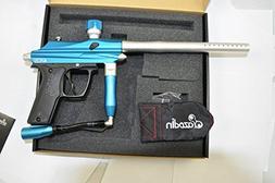 Azodin Kaos Semi-Auto Paintball Marker Gun - Blue/Silver