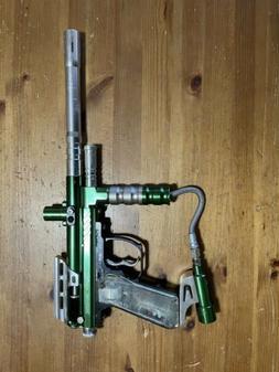 kingman spyder paintball gun marker Tested full auto Imagine
