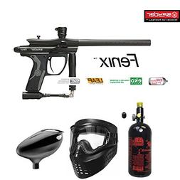 MAddog Kingman Spyder Fenix Beginner HPA Paintball Gun Packa