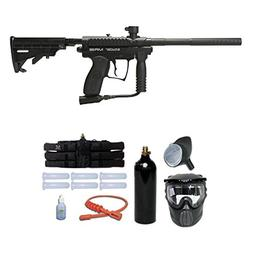 Kingman Spyder MR100 Titanium Paintball Gun Package - Diamon
