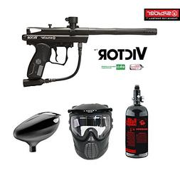 MAddog Kingman Spyder Victor Beginner HPA Paintball Gun Pack