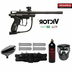 MAddog Kingman Spyder Victor Starter CO2 Paintball Gun Packa