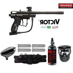 MAddog Kingman Spyder Victor Starter HPA Paintball Gun Packa