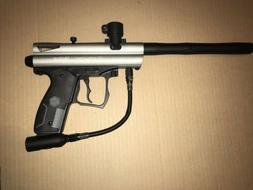 Kingman Spyder Victor Paintball Marker Gun Package Kit - Sil
