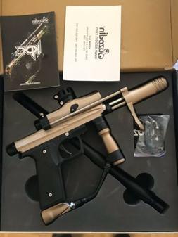 Azodin KPC Pump Paintball Marker, Tan, New NIB Gun With 50 R
