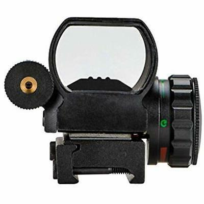 CVLIFE 1x22x33 Sight Red And Green 4 Reticle Gun Laser