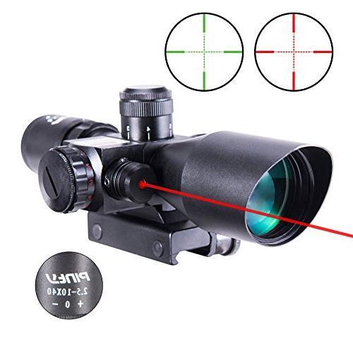 2 5 illuminated mil laser