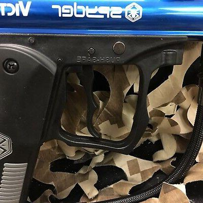 NEW 2012 Victor Semi-Auto Mechanical Paintball Gun Blue